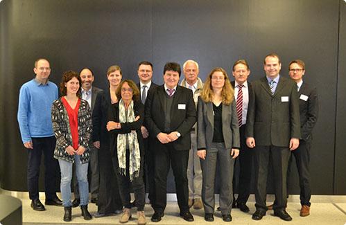 TeilnehmerInnen des 2. ABIEST-Workshops in Erlangen