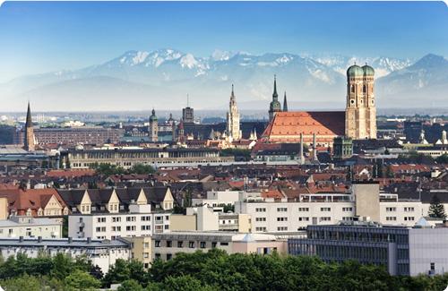 München – capital del Estado de Baviera