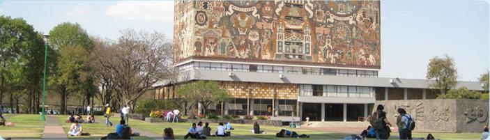 Universidad Nacional Autónoma de México, Bibliothek. Foto: Prof. Dr. Karl-Dieter Grüske